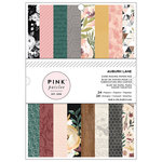 Pink Paislee - Auburn Lane Collection - 6 x 8 Paper Pad