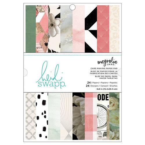 Heidi Swapp - Magnolia Jane Collection - 6 x 8 Paper Pad