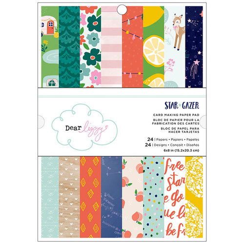 American Crafts - Star Gazer Collection - 6 x 8 Paper Pad