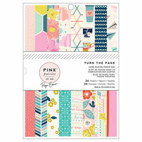 Pink Paislee - Turn The Page Collection - 6 x 8 Paper Pad