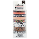 Pebbles - Spooky Boo Collection - Halloween - Washi Tape with Foil and Glitter Accents