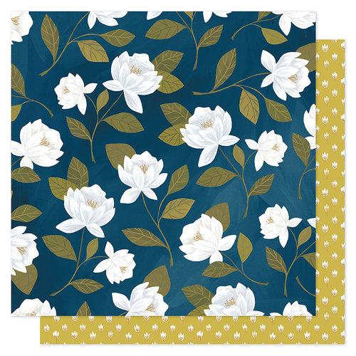 1 Canoe 2 - Goldenrod Collection - 12 x 12 Double Sided Paper- Raleigh Floral