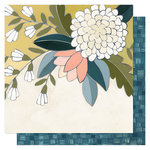 1 Canoe 2 - Goldenrod Collection - 12 x 12 Double Sided Paper- Goldenrod Floral