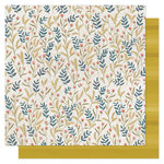 1 Canoe 2 - Goldenrod Collection - 12 x 12 Double Sided Paper- Meadow Floral