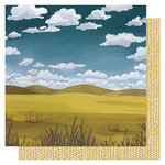 1 Canoe 2 - Goldenrod Collection - 12 x 12 Double Sided Paper- Waves of Grain