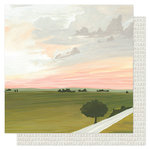 1 Canoe 2 - Goldenrod Collection - 12 x 12 Double Sided Paper- Summer's Trails