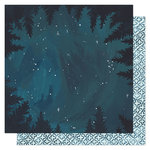 1 Canoe 2 - Goldenrod Collection - 12 x 12 Double Sided Paper- Midnight Forest