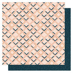 1 Canoe 2 - Goldenrod Collection - 12 x 12 Double Sided Paper- Pink Tile