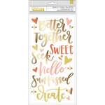 1 Canoe 2 - Goldenrod Collection - Thickers - Chipboard - Phrases