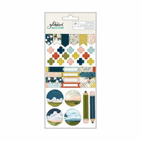 1 Canoe 2 - Goldenrod Collection - Small Sticker Pack