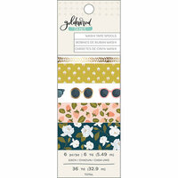 1 Canoe 2 - Goldenrod Collection - Washi Tape Set
