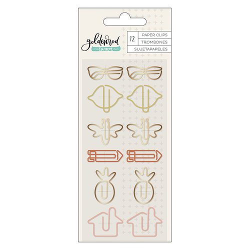 1 Canoe 2 - Goldenrod Collection - Shape Paper Clips