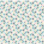 American Crafts - I Do Collection - 12 x 12 Double Sided Paper with Pearl Accents - Santini Mums