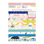 Crate Paper - Hooray Collection - 6 x 8 Paper Pad with Holographic Foil Accents