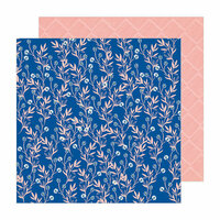 Crate Paper - Sunny Days Collection - 12 x 12 Double Sided Paper - Daisy