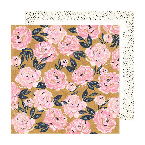 Crate Paper - Sunny Days Collection - 12 x 12 Double Sided Paper - Splendor