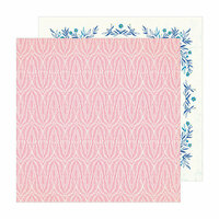 Crate Paper - Sunny Days Collection - 12 x 12 Double Sided Paper - Coral