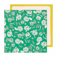 Crate Paper - Sunny Days Collection - 12 x 12 Double Sided Paper - Whimsy