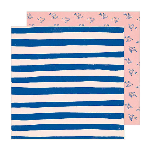 Crate Paper - Sunny Days Collection - 12 x 12 Double Sided Paper - Care Free