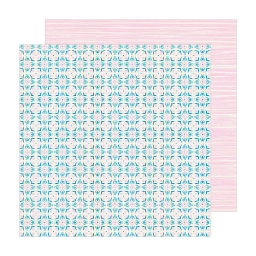 Crate Paper - Sunny Days Collection - 12 x 12 Double Sided Paper - Florentine