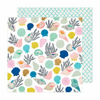 Crate Paper - Sunny Days Collection - 12 x 12 Double Sided Paper - Collected