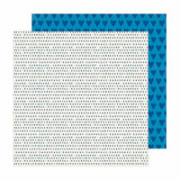 Crate Paper - Sunny Days Collection - 12 x 12 Double Sided Paper - Saturday