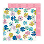 Crate Paper - Sunny Days Collection - 12 x 12 Double Sided Paper - Parasol