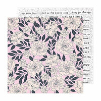 Crate Paper - Sunny Days Collection - 12 x 12 Double Sided Paper - Charm