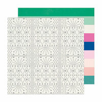 Crate Paper - Sunny Days Collection - 12 x 12 Double Sided Paper - Explorer