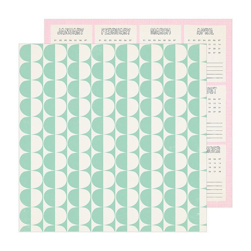 Crate Paper - Sunny Days Collection - 12 x 12 Double Sided Paper - Weekend