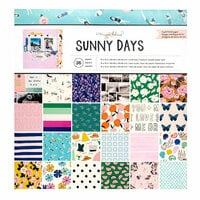 Crate Paper - Sunny Days Collection - 12 x 12 Paper Pad