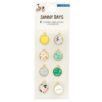 Crate Paper - Sunny Days Collection - Charms