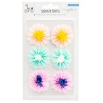 Crate Paper - Sunny Days Collection - Paper Flowers