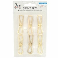 Maggie Holmes - Sunny Days Collection - Metal Clips - Gold