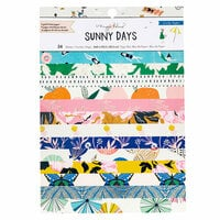Maggie Holmes - Sunny Days Collection - 6 x 8 Paper Pad with Foil Accents