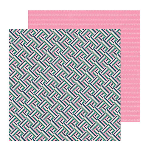 Crate Paper - All Heart Collection - 12 x 12 Double Sided Paper - Hustle