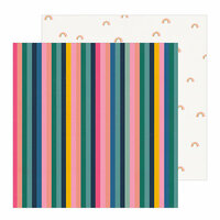 Crate Paper - All Heart Collection - 12 x 12 Double Sided Paper - Be You