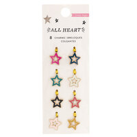 Crate Paper - All Heart Collection - Charm Embellishments