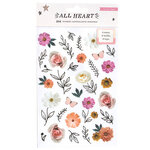 Crate Paper - All Heart Collection - Clear Sticker Book with Foil Accents