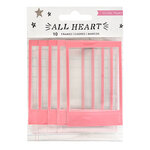 Crate Paper - All Heart Collection - Stickers - Puffy Frames