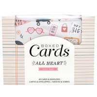 Crate Paper - All Heart Collection - Boxed Card Set