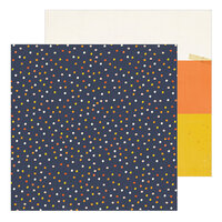 Crate Paper - Hey Pumpkin Collection - 12 x 12 Double Sided Paper - Candy Corn