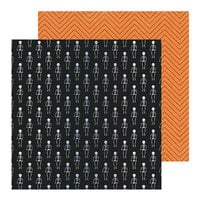 Crate Paper - Hey Pumpkin Collection - 12 x 12 Specialty Paper - Moonlit with Holographic Foil Accents