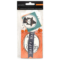 Crate Paper - Hey Pumpkin Collection - Ephemera Pack with Holographic Foil and Sequins