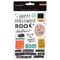 Crate Paper - Hey Pumpkin Collection - Sticker Book with Holographic Foil and Glitter Accents