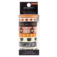 Crate Paper - Hey Pumpkin Collection - Washi Tape Set with Holographic Foil Accents