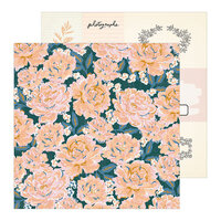 Crate Paper - Heritage Collection - 12 x 12 Double Sided Paper - Perennial