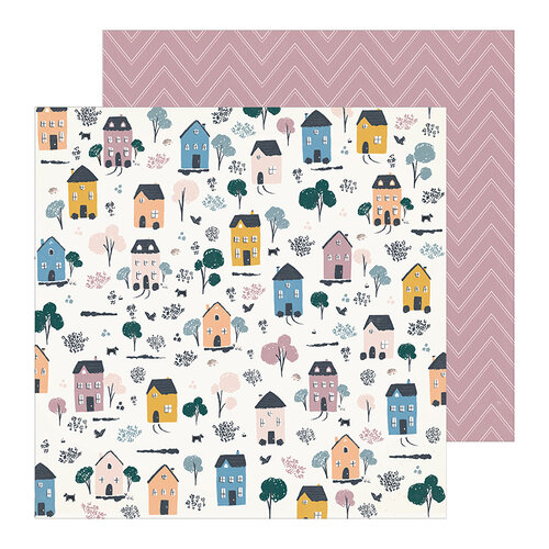 Crate Paper - Heritage Collection - 12 x 12 Double Sided Paper- Homestead