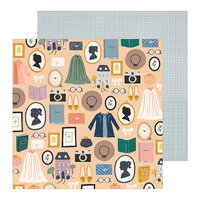 Crate Paper - Heritage Collection - 12 x 12 Double Sided Paper - Decades