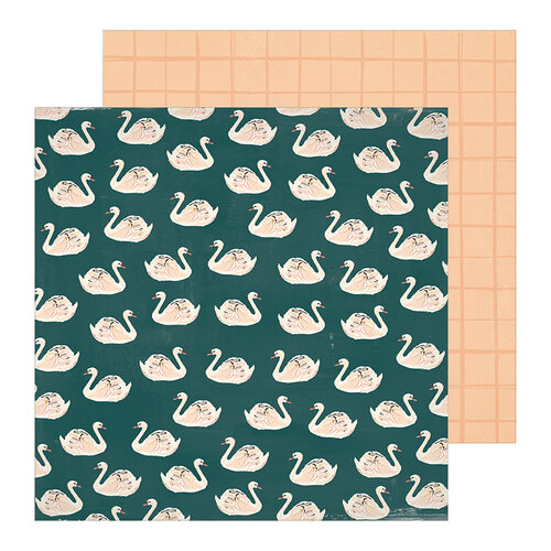 Crate Paper - Heritage Collection - 12 x 12 Double Sided Paper - Allie